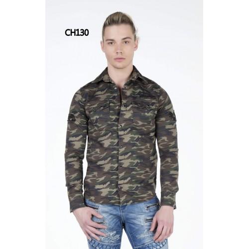 CIPO & BAXX CH130 khaki camouflage