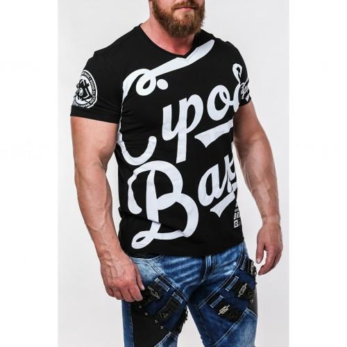 Pánske tričko CIPO & BAXX CT635 BLACK