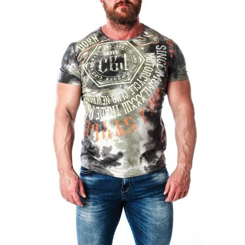 Pánske tričko CIPO & BAXX CT614 ANTRACITE