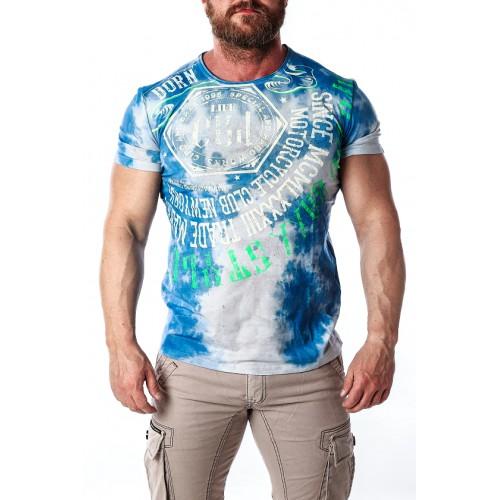 Pánske tričko CIPO & BAXX CT614 BLUE