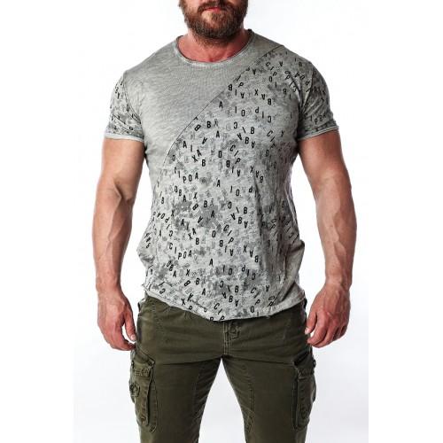 Pánske tričko CIPO & BAXX CT469 GREY