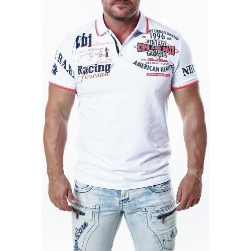 Pánske tričko CIPO & BAXX CT603 WHITE