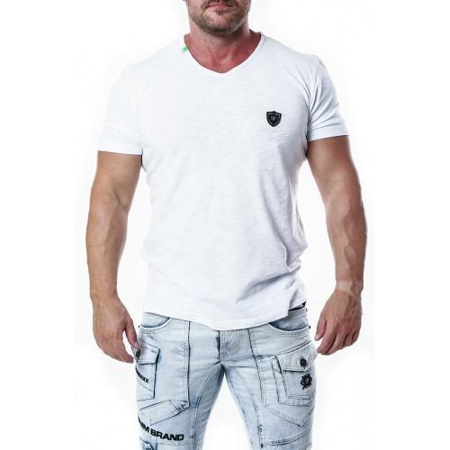 Pánske tričko CIPO & BAXX CT648 WHITE