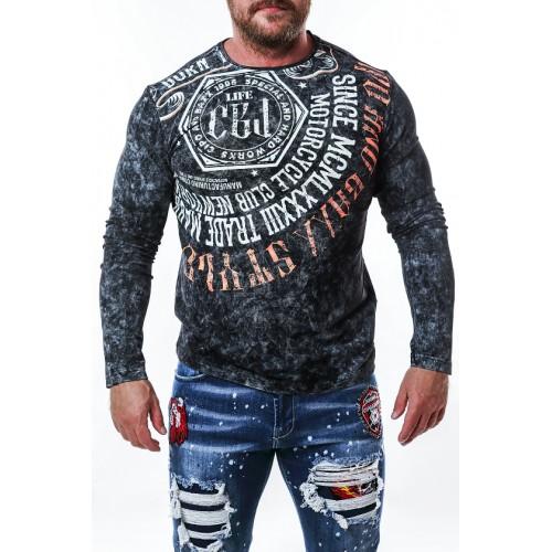 Pánske tričko CIPO & BAXX CL472 BLACK