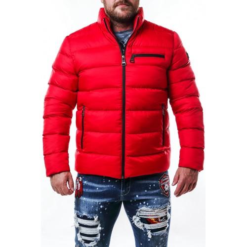 Pánska bunda CIPO & BAXX CM175 RED